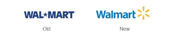 做壞的Logo重新設計案例-walmart威爾瑪超市