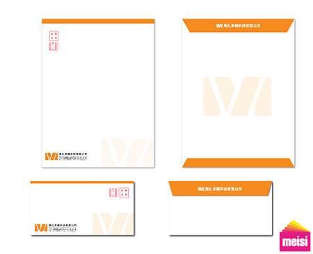馬札多龍信封信紙設計