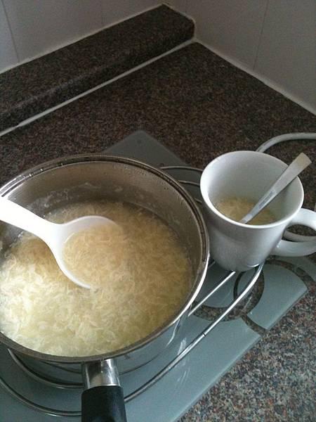 大陸同學的北方麵湯
