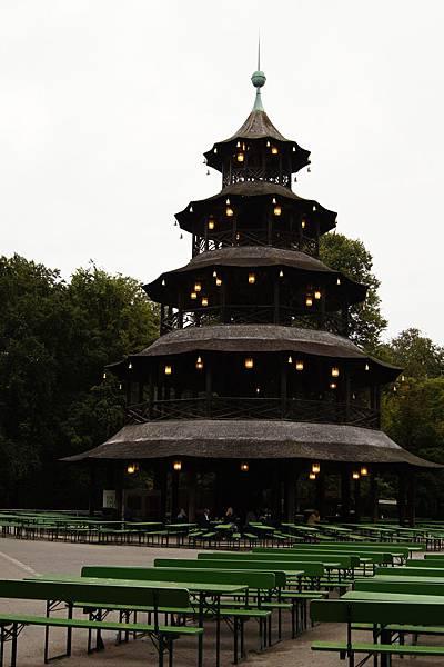 找半天才找到的中國塔