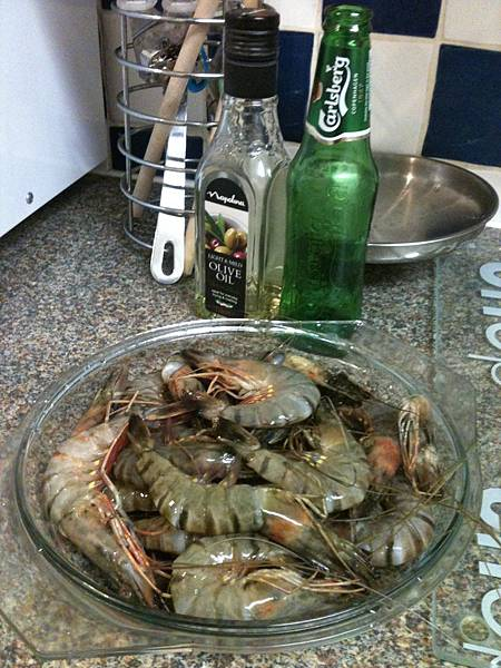 sunderland買回來的蝦