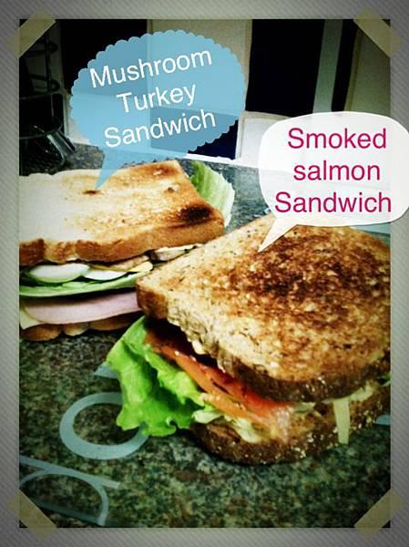 咖口以愛的午餐三明治