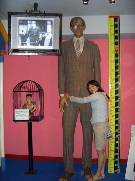 史上最高的人 270cm