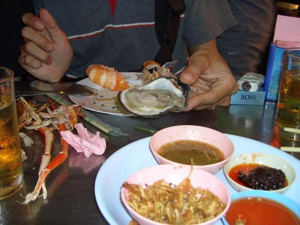 生蚵泰式吃法