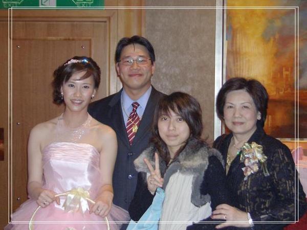 大表哥女兒,乾媽&新娘新郎倌