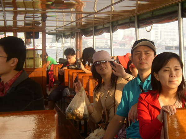 長尾船遊湄南河