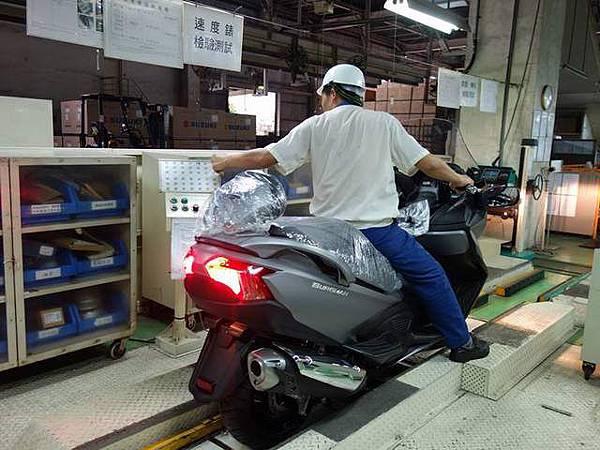 BURGMAN 650正式抵達台灣!開箱囉!