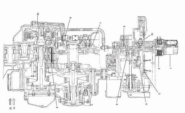 BURGMAN650引擎機油潤滑油路