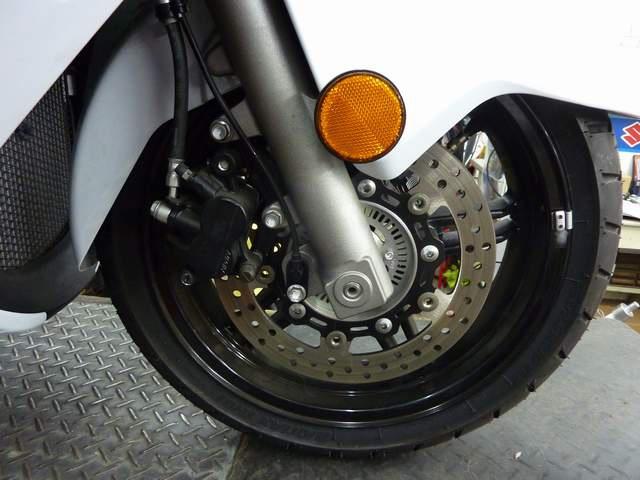 BURGMAN650 換前輪胎