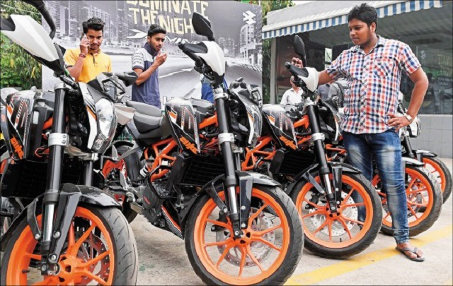 〈國際現場〉印度成全球最大摩托車市場