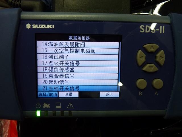 GSX-S150發動機數據監視及有效控制內容