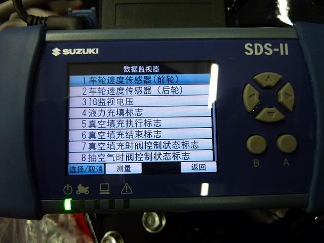 GSX-R150與GSX-S150 ABS數據監視及有效控制內容