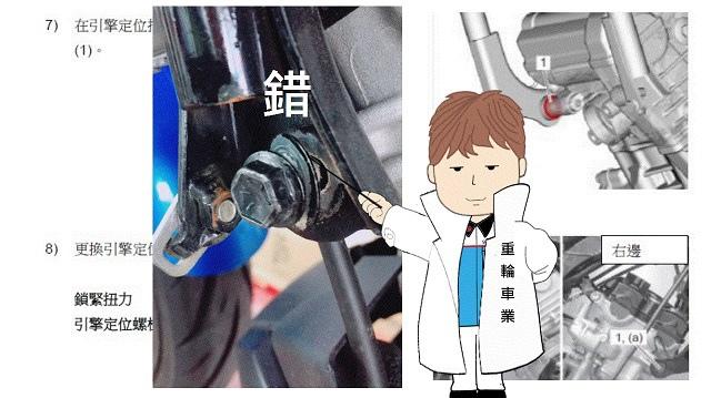 GSX-S150 車架螺栓更換、車架檢查 免費召回改正疏忽