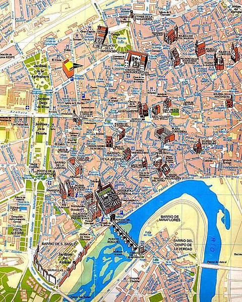 哥多華 市中心圖