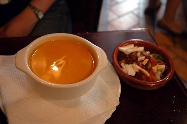 食在哥多華 番茄冷湯