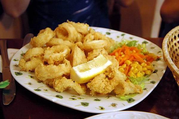食在哥多華 炸魷魚圈