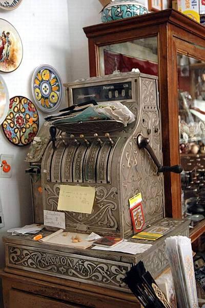 哥多華 舊式收銀機
