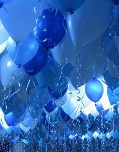 寶藍的氣球