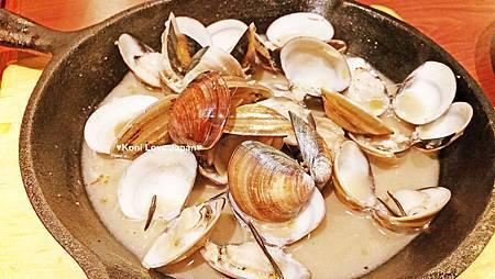 迷迭香白酒奶油蛤犡