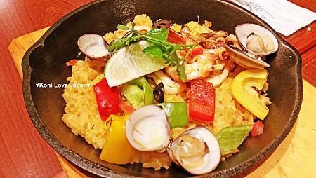 西班牙海鮮烤飯