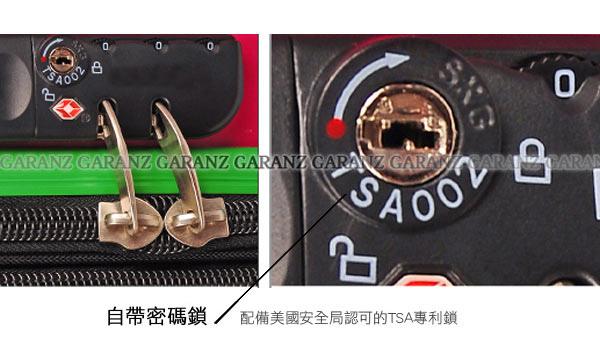 20150113 痞客邦 甜心直條紋旅行拉桿行李箱 圖片5