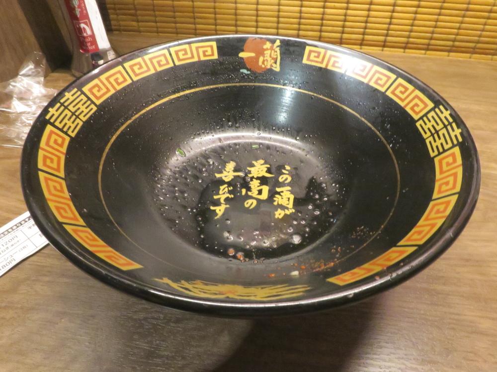與一蘭(東京上野)天然豚骨湯拉麵比較