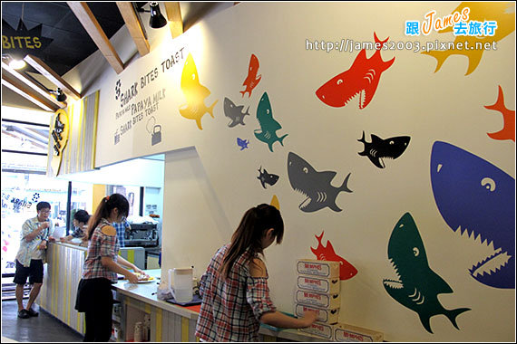 台中-鯊魚咬土司-大智店01