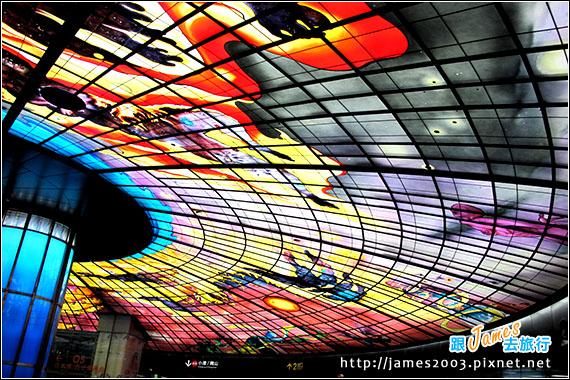 高雄-光之穹頂-漁人碼頭-新崛江-捷運一日遊10