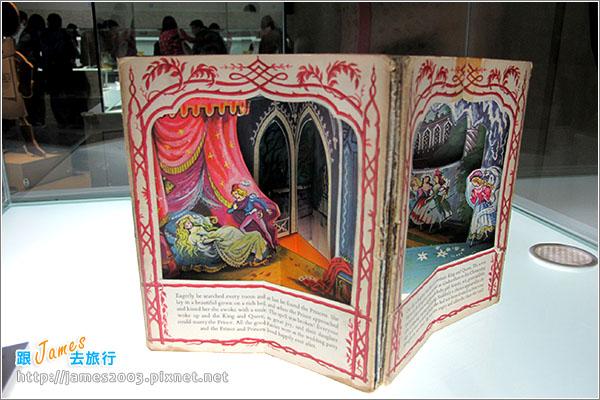 台中文化創意園區-立體書的異想世界展覽07