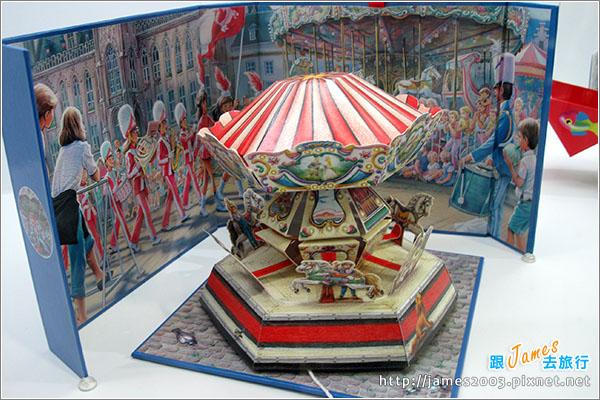 台中文化創意園區-立體書的異想世界展覽15