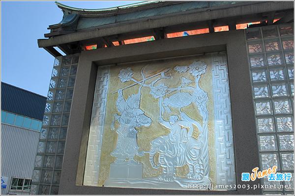 [彰化鹿港] 玻璃媽祖廟『護聖宮』&台灣玻璃館-觀光工廠-彰濱工業區2