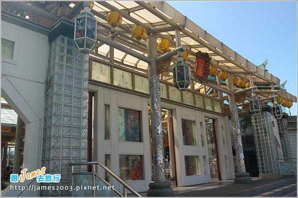 [彰化鹿港] 玻璃媽祖廟『護聖宮』&台灣玻璃館-觀光工廠-彰濱工業區3
