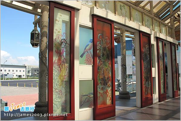 [彰化鹿港] 玻璃媽祖廟『護聖宮』&台灣玻璃館-觀光工廠-彰濱工業區7