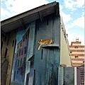 [雲林景點] 虎尾頂溪社區「屋頂上的貓」貓彩繪村12.JPG