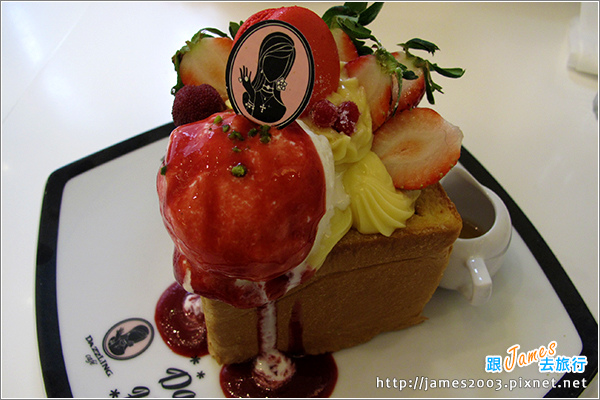 [台中美食] 新光三越-玳思琳蜜糖吐司(Dazzling Cafe)15.JPG