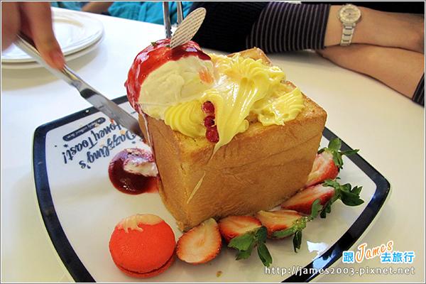 [台中美食] 新光三越-玳思琳蜜糖吐司(Dazzling Cafe)17.JPG