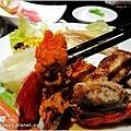 [台中聚餐] 清新溫泉飯店景餐廳~日本料理吃到飽10.JPG