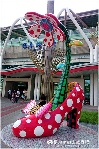 【員林景點】讓妳想談戀愛的-員林火車站(草間彌生高跟鞋) 001.JPG