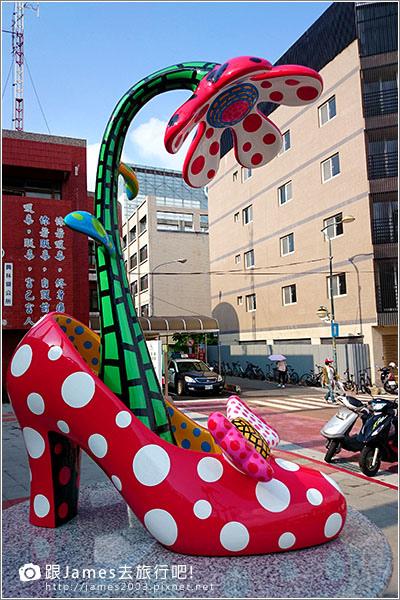 【員林景點】讓妳想談戀愛的-員林火車站(草間彌生高跟鞋) 006.JPG