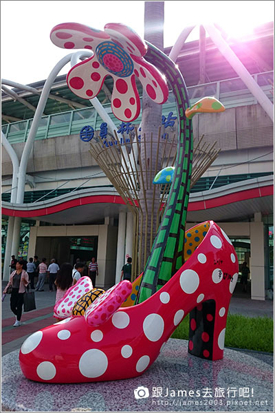 【員林景點】讓妳想談戀愛的-員林火車站(草間彌生高跟鞋) 022.JPG