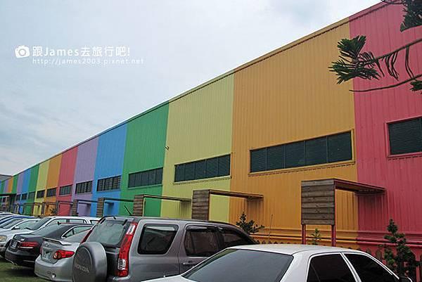【彰化旅遊】美麗的緞帶王國-緞帶王觀光工廠(免費參觀)002.JPG