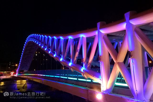 【台中外拍景點】北屯-海天橋(景觀橋)夜景 01.jpg