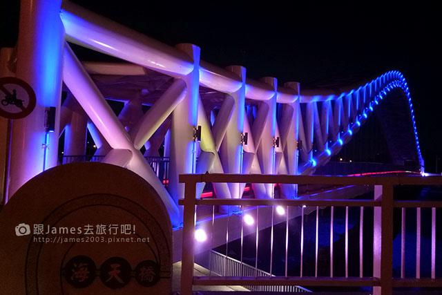 【台中外拍景點】北屯-海天橋(景觀橋)夜景 03.jpg