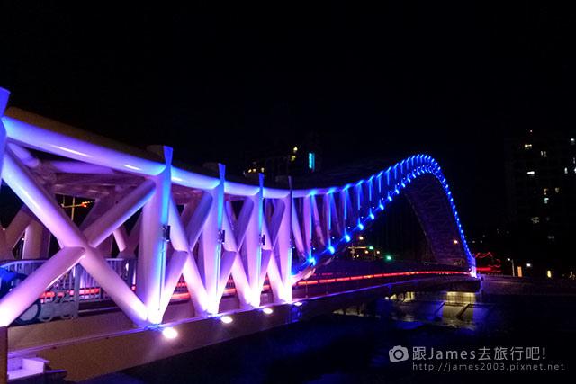 【台中外拍景點】北屯-海天橋(景觀橋)夜景 04.jpg