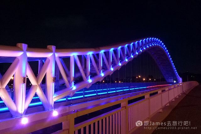 【台中外拍景點】北屯-海天橋(景觀橋)夜景 13.jpg