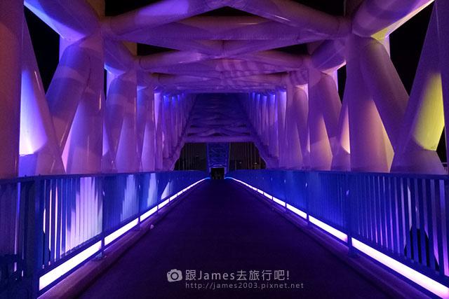 【台中外拍景點】北屯-海天橋(景觀橋)夜景 08.jpg