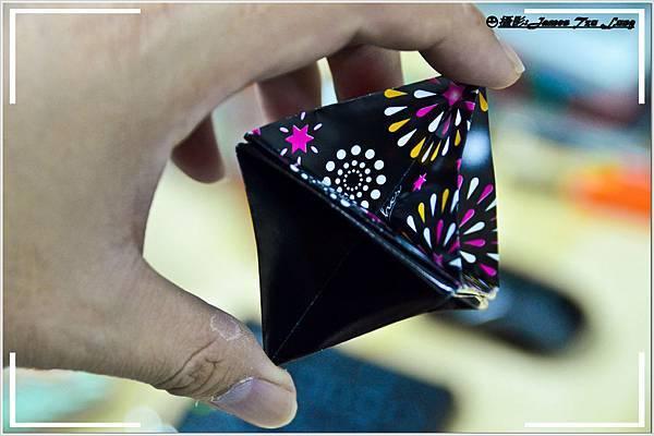 摺紙作品-立體角錐