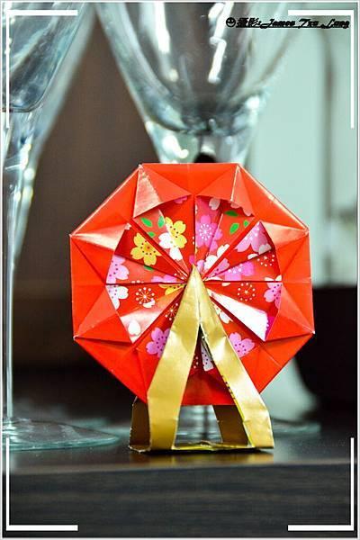 摺紙作品-摩天輪
