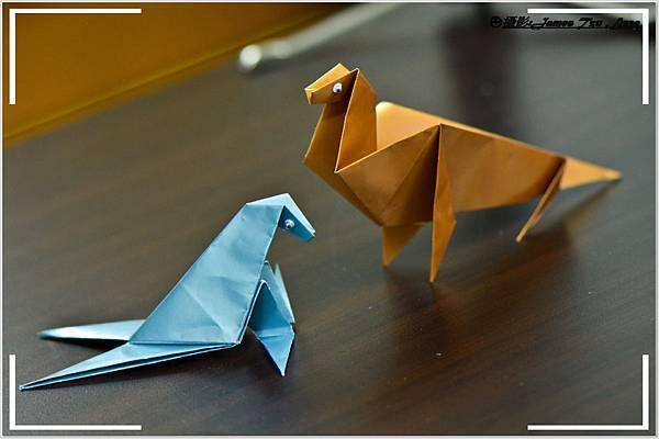 摺紙作品-海豹