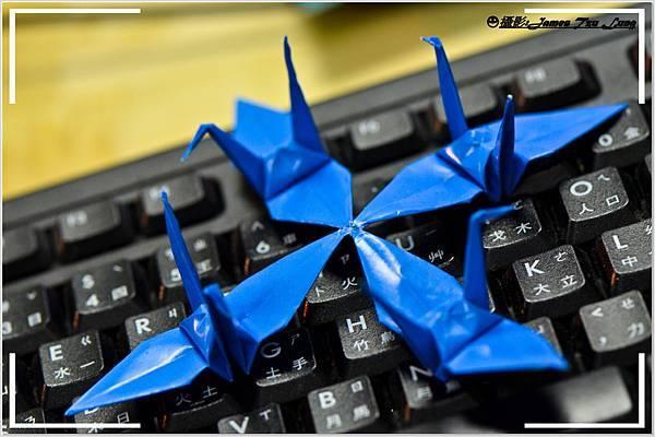 摺紙作品-秘傳千羽鶴-四翅連